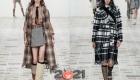 Модные клетчатые луки Диор на зиму 2020-2021