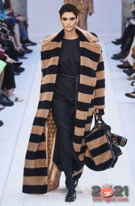 Горизонтальная полоса - модный принт зимы 2020-2021