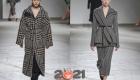 Модные принты зимы 2020-2021 - гусиная лапка