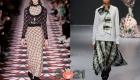 сочетание клетчатого принта - модные тренды зимы 2020-2021