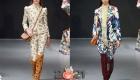 Модные тенденции 2021 года - женские костюмы с цветочными принтами