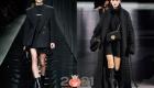Модные черные тотал-луки зимы  2020-2021 года