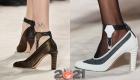 Модные туфли сезона осень-зима 2020-2021 на широком каблуке