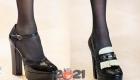 Туфли с платформой на каблуке - мода сезона осень-зима 2020-2021