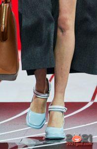туфли с квадратным носком - тренд зимы 2020-2021
