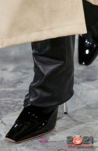 Туфли с квадратным носком - мода сезона осень-зима 2020-2021