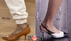 Модные туфли с острым носком на зиму 2021 года