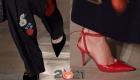 Туфли осень-зима 2020-2021 - острые носки