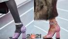 Туфли с широким каблуком - осень-зима 2020-2021