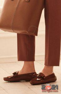 Модные туфли без каблука на 2021 год