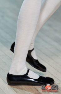 Туфли балетки осень-зима 2020-2021