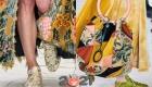 Модные туфли с цветочным принтом на зиму 2020-2021