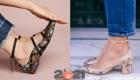 обувь с принтами на 2021 год - модные туфли