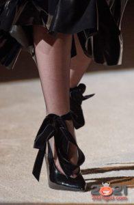 Модные туфли с бантиками на зиму 2020-2021 года