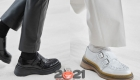 Модные туфли с парными пряжками - зима 2020-2021