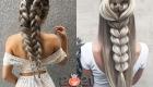 Прически с косами - модные идеи на 2021 год