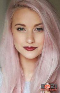 Модный розовый блонд на 2021 год