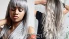 Металлик - модные оттенки волос на 2021 год