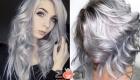 Волосы цвета металлик - тренд зимы 2020-2021 года