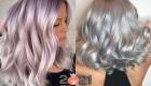 Металлический оттенок волос - модный цвет 2021 года