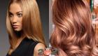 Модный цвет волос 2021 - карамель