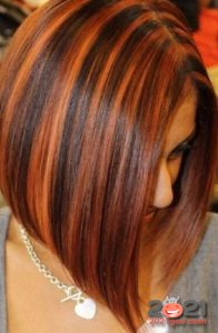 Рыжий цвет волос - модное колорирование 2021 года