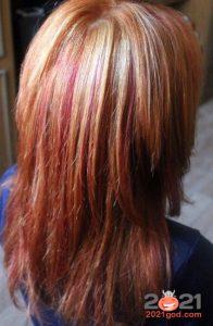 Модные вариации рыжего цвета волос зимой 2020-2021 года