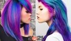 Модные оттенки волос на 2021 год - galaxy hair