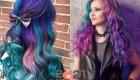 Галактические волосы - модные оттенки на зиму 2020-2021