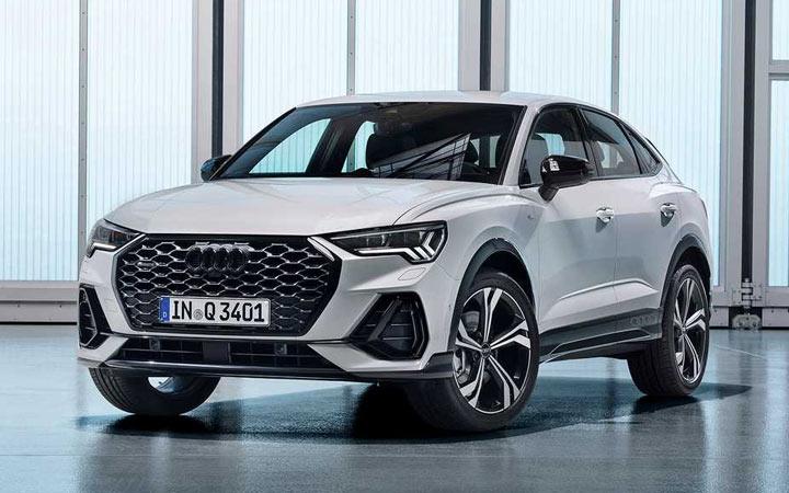Audi Q3 Sportback 2020-2021 года