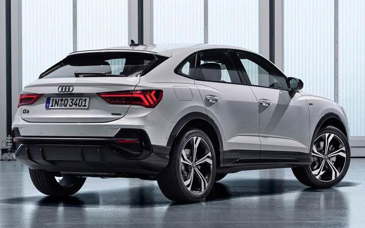 Экстерьер Audi Q3 Sportback 2020-2021 года