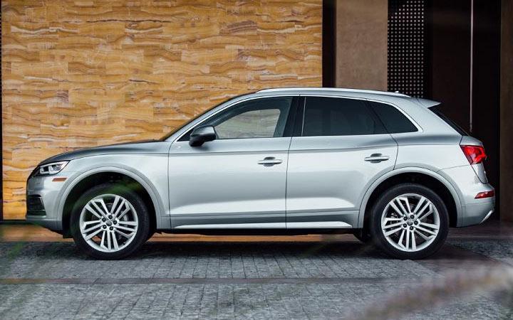 Экстерьер Audi Q5 2020-2021 года