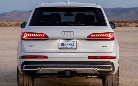 Экстерьер Audi Q7 2020-2021 года