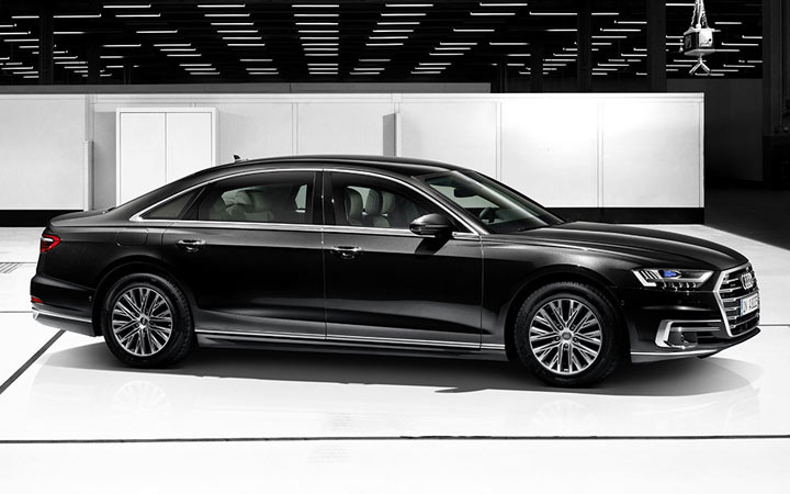 Audi A8 L Security 2020-2021 года