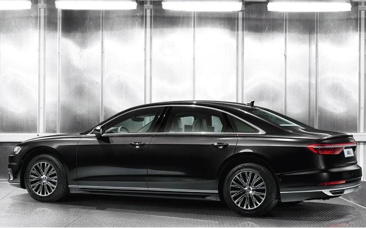 Новый броневик Audi A8 L Security 2020-2021 года