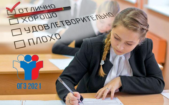 Оценивание ОГЭ по английскому языку в 2021 году