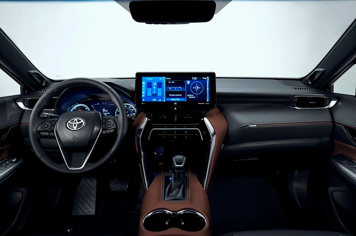 Интерьер Toyota Venza 2021