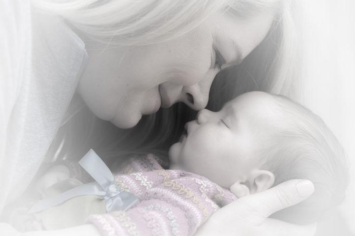 Мама и новорожденный