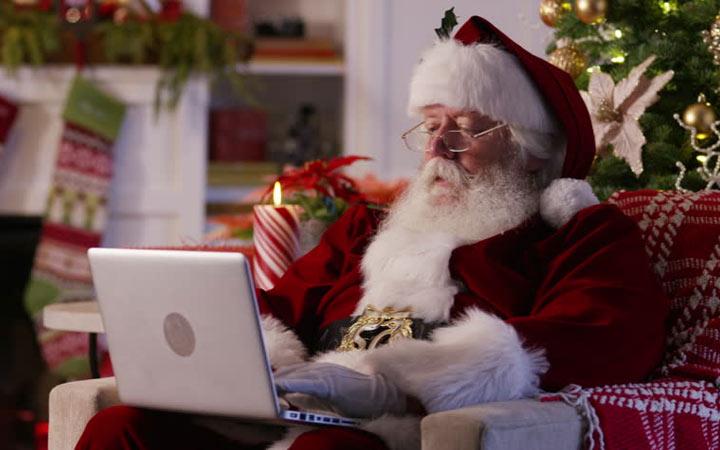 Электронное поздравление от Деда Мороза в 2021 году