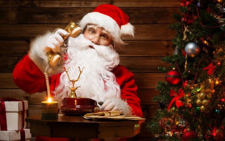 Телефонное поздравление от Деда Мороза в 2021 году