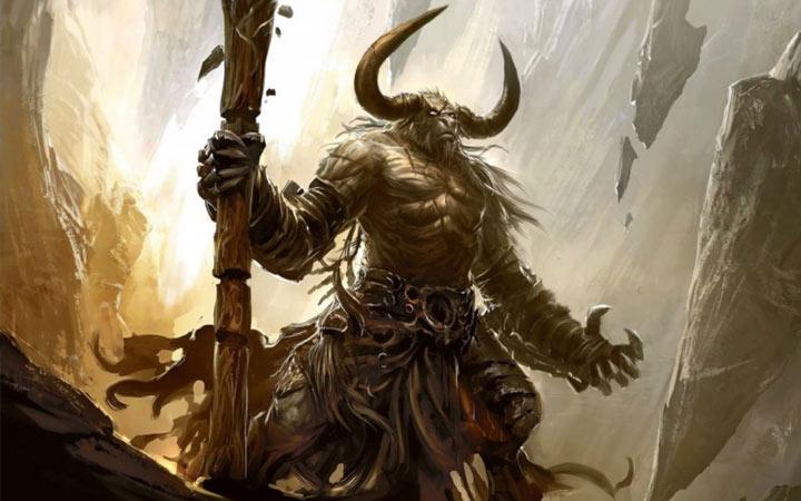 Бык Минотавр - символ 2021 года в мифологии