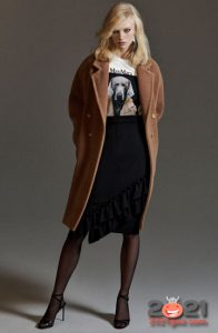 Модное пальто Макс Мара осень-зима 2020-2021 года
