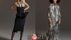 Черное классическое платье от Макс Мара осень-зима 2020-2021 года