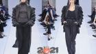 Пальто с рюшами Макс Мара осень-зима 2020-2021 года