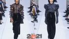 Прозрачные блузы с рюшами Макс Мара осень-зима 2020-2021 года