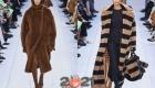 Модные шубы Макс Мара осень-зима 2020-2021 года