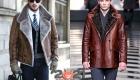 Модные мужские дубленки зимы 2020-2021