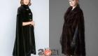 Модные меховые кейпы из норки зима 2020-2021