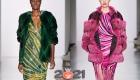 Цветная шуба - модный тренд 2021 года