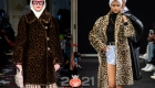 Модные леопардовые шубы 2021 года